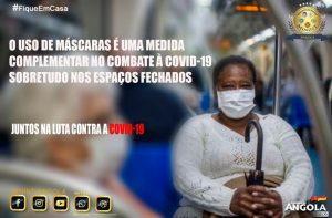 COVID-19: ANGOLA REPORTA 280 RECUPERADOS E 75 NOVOS CASOS